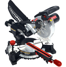 Craftsman 7 1/4 Inch Laser Trac Dual Sliding Compound Miter Saw Bevel Compact