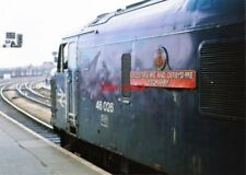 PHOTO  CLASS 46 LOCO NO  46026  LEICESTERSHIRE & DERBYSHIRE YEOMANRY FRONT  AT B