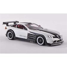 HAMANN VOLCANO SLR 2011 WHITE/ANTHRACITE 1:43 Neo Scale Models Auto Stradali