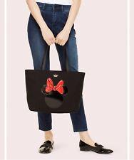 Kate Spade Minnie Mouse Francis Black Tote Bag Purse $250