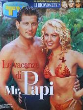 TV Sorrisi e Canzoni n°32 1999 Storia Legione Straniera - Max Pezzali (4 p [D14]