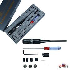 Laser Bore Sight Kit Boresighter for 22 to 50 Caliber Scope Handgun Rifles Red