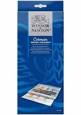Winsor & Newton Cotman Water Color Half Pan Studio Set - 45 Half Pans