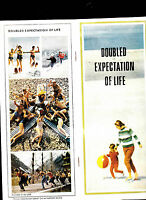 Doubled Expectation of Life Brochure 1967 USSR