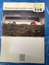 Plaxton Coach And Bus - A Guide Bus/Coach Publicity Leaflet Ref 116