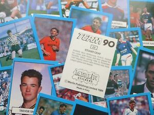 Merlin Team 90 Stickers - Complete Your Collection
