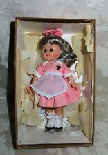 """1990's 8"""" Vogue Ginny Doll """"Car Hop"""" in Original Box with Stand"""