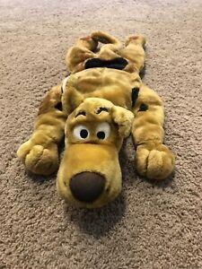 Vtg 1998 Scooby Doo Pet Plush Stuffed Animal Pillow Cartoon Network Large 26''