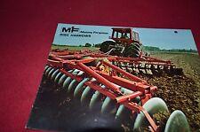 Massey Ferguson 620 520 39 21 25 30 40 Disc Harrow Dealer's Brochure DCPA