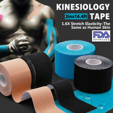 3 Rolls! Kinesiology Tape Athletic Muscle Sport Elastic Therapeutic KT 50 feet