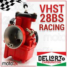 CARBURATORE VHST RACING ROSSO 28MM BS DELL'ORTO VALVOLA PIATTA - 09381