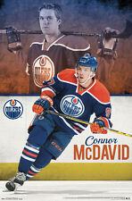 CONNOR MCDAVID Edmonton Oilers Superstar Rookie FIRST-EVER NHL POSTER