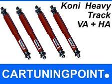 Koni Stoßdämpfer Set Vorne + Hinten für Ssang Yong Rexton Heavy Track Rot