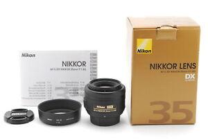 [Almost unused] Nikon AF-S NIKKOR 35mm f/1.8G DX Lens From Japan #1001