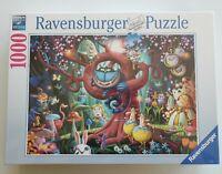 NEW Ravensburger Alice In Wonderland 1000 Piece Jigsaw Puzzle Cheshire Cat