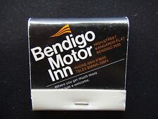 BENDIGO MOTOR INN MEDORA'S RESTAURANT HIGH ST KANGAROO FLAT 054 478555 MATCHBOOK