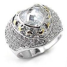 Modeschmuck-Ringe mit Diamant-Hauptstein für Damen