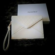 Pandora White Envelope Evening/Wrist Bag - NIB