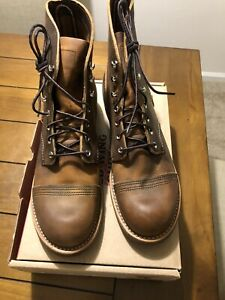 Red Wing Iron Ranger 8085 Copper Rough & Tough Leather Size 9.5D Brand New