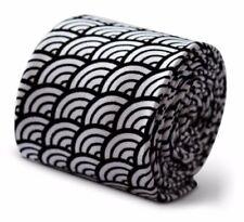 Cravates noirs pour homme en 100% coton