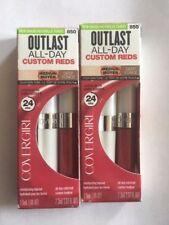 Lot of 2, Covergirl All-Day Custom Reds Lip Color, 850 Extraordinary Fuchsia!