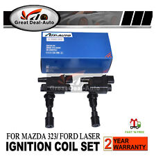 2 x Ignition Coils Pack For Ford Laser KN KQ 1.6L for 323 Astina BJ ZMD 98-03