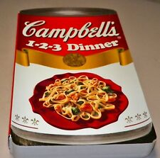 Cook Book Campbell's 1-2-3 Dinner, HC, Recipes