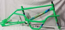 "Old Bmx Neon Green 8701 Haro Master 85 Decals 20"" Freestyle Bike gt cw hutch pro"