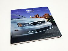 2004 Suzuki XL-7 Grand Vitara Aerio Vitara Verona Forenza Press Kit Brochure
