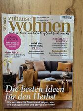Zuhause Wohnen Zeitschrift Nr. 10 Oktober 2020