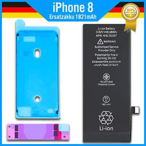 Ersatz Akku für Original Apple iPhone 8 - 1821mAh Accu Battery