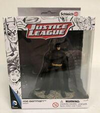 Schleich Justice League Action Figure #02 Batman #22501 Hand Painted NIB