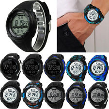 Led Waterproof Wrist Watches Silicon Luxury Men Analog Digital Military Sport