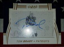 2016 Panini Clear Vision Tom Brady autograph #2/5