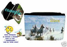 portefeuille cheval personnalisable avec prénom réf 12