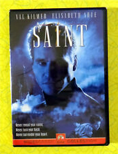 The Saint ~ New DVD Movie ~ 1997 Val Kilmer Action Thriller ~ Rare OOP
