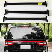 3Pcs Roof Rail Rack Cross Bar Crossbar Fit for Lincoln Navigator 2018 2019 2020