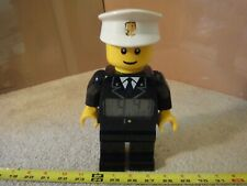 Rare! Lego City Police Officer alarm clock. Battery operated toy clock. Works!