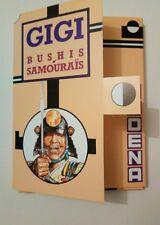 GIGI Robert BUSHIS SAMOURAÏS Serie num signée  16 cartes postales
