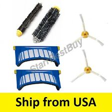 Roomba Beater+ Bristle brush+ Irobot AEROVAC filters 550 585 595 620 630 650 655