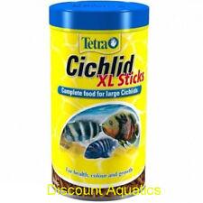 Tetra Cichlid XL Sticks complete food for large cichlids 160 g Doromin