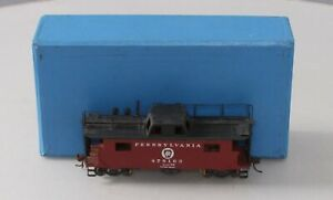 Alco Models X-103 HO BRASS PRR N-8 Caboose - Painted/Box