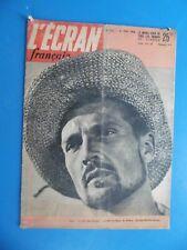 L'Écran Français n°256 - parution: 29 Mai 1950 - CINEMA - MARCHAL Georges -