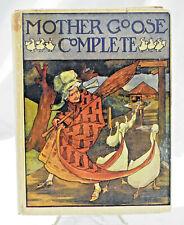 1915 Mother Goose Complete - Saalfield Publishing - Matthews & Ware - Very Good