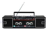 Universum Cubic Sound CTR 1358 - Hochwertige Boombox / Stereo Kassettenrecorder