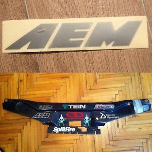 Genuine AEM 18cm Emblem Decal Logo Sticker Vinyl Decal Graphic