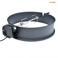 "Onlyfire Universal Rotisserie Ring Kit For 21.5- 22.5"" Charcoal Kettle Grill"