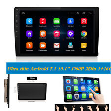 """2 DIN 10.1"""" MP5 Player GPS Wifi Android 7.1 Bluetooth Car Stereo Radio Core1+16G"""