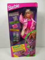 Vintage Paint 'n Dazzle Barbie Doll, Blonde #10039 Mattel 1993 NRFB Rare HTF NIB