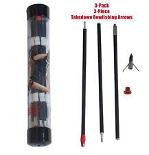 Takedown Bowfishings Arrows 8mm (3 pack)